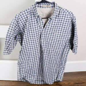 Men's checkered polo
